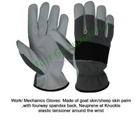 super Quality Industrial Mechanical Gloves ,Leather gloves for touch screen