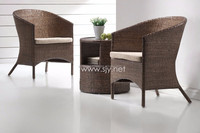Full Rattan Furniture occasional set, for balcony set, relax chair