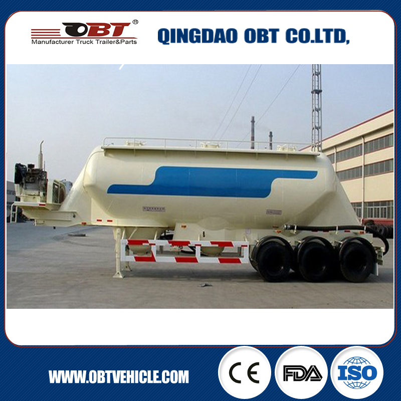 China OBT bulk poultry feed silo machine trucks for sale