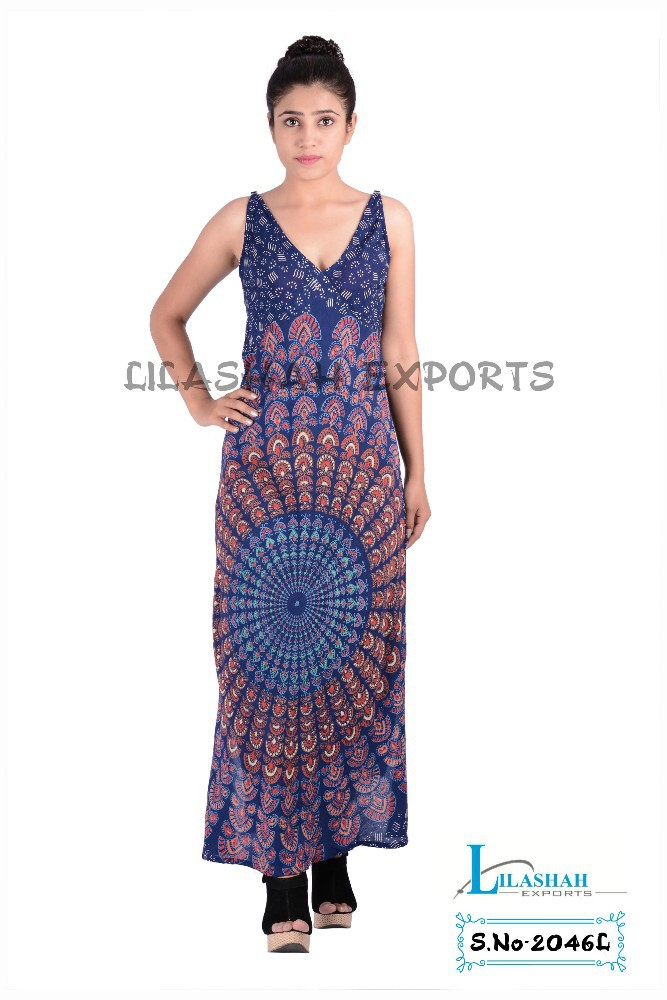 Cotton Designer Maxi Dresses, Long Dresses, Evening Gowns, Cocktail hot summer months, you can go for rayon maxi dresses