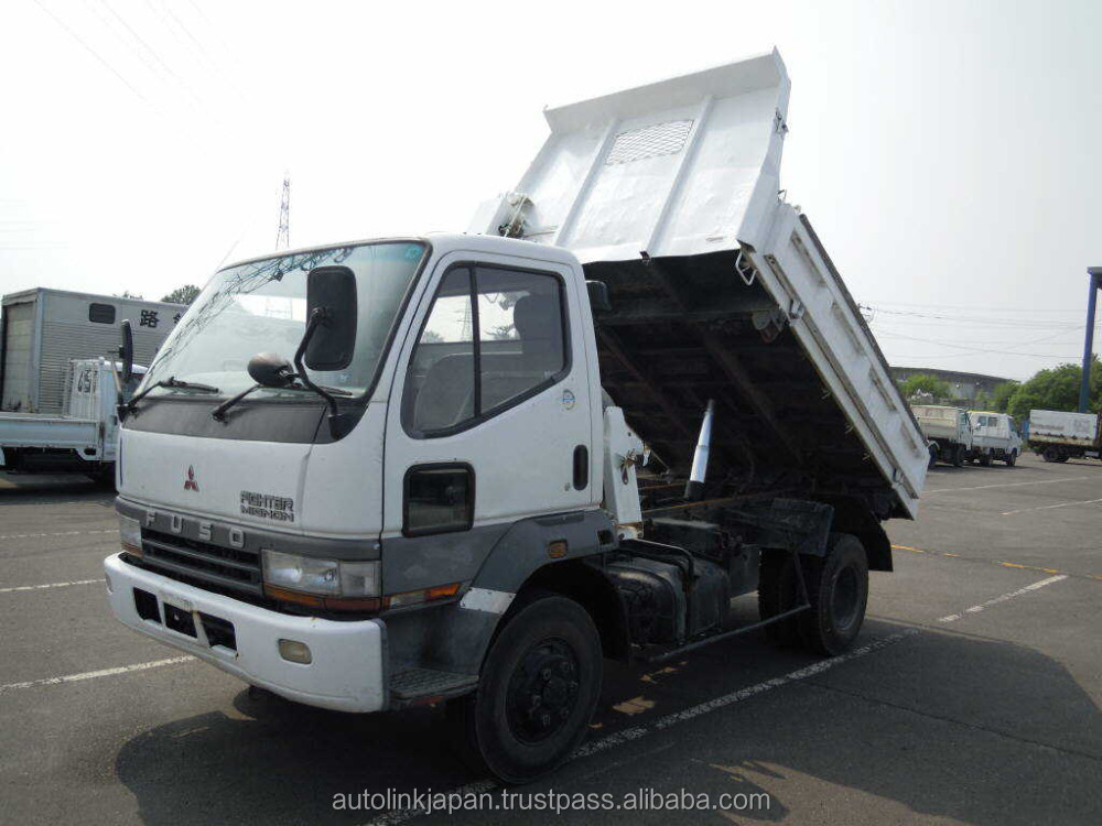 1998 Used Mitsubishi Fuso Fighter Truck | 4 TON DUMP | 6D16 ENGINE