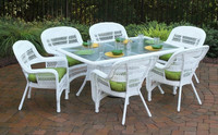 New Fashion hotsale garden sets wooden aluminum frame poly rattan patio furniture