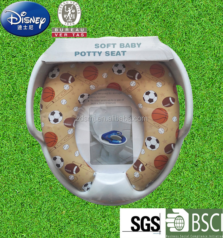 Novelty baby toilet seat