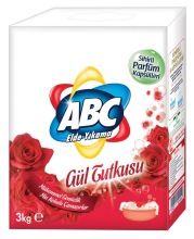 ABC Powder Detergent 3 kg x 12 Rose - Box