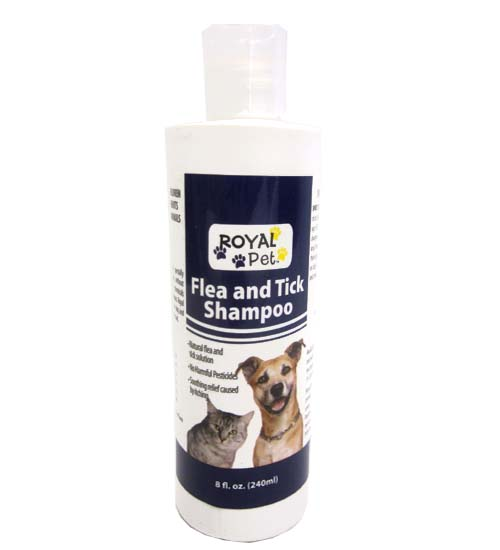 Royal Pet Flea & Tick Shampoo 8oz