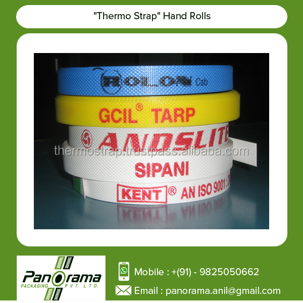 Strong Tough Hand Strap Rolls with Printed Logo of Respective Company