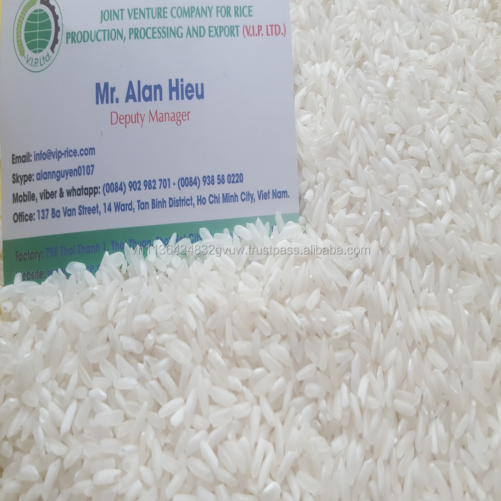 VIETNAM 5% BROKEN LONG GRAIN RICE WITH BEST GRADE