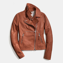 Cheap College Fashion Winter Jacket American Football Team Sport PU Leather Sleeves Custom Women Varsity