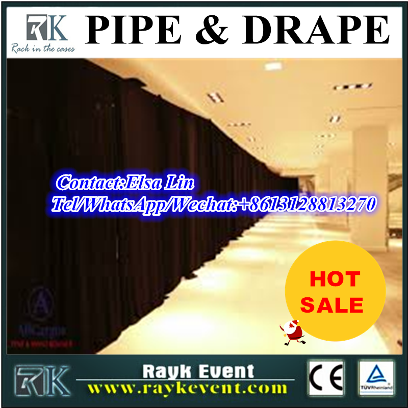 Wholesale price cheap pipe and drape alternatives backdrop wedding/photo studio backgrounds/pipe and drape from China