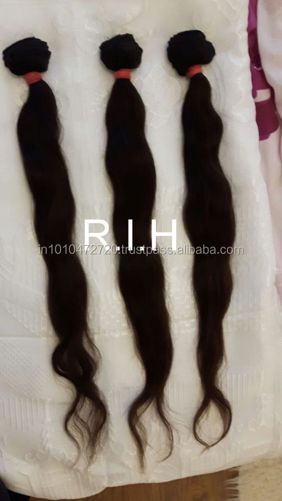 "Indian Virgin Hair Remy Human Hair Body Wave Natural color 12""-30""inch Best Quality Braiding Hair"