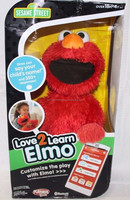 BUY AUTHENTIC Friends Sesame Street Love2learn Elmo ~ NEW FREE SHIPPING!!