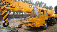 90% new 30 ton truck crane Original Kato NK300E used crane for sale