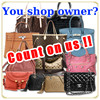 Genuine used and Reliable signature bags for brand shop owner , Other brands also available