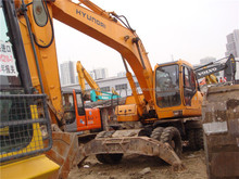 used wheeled excavator hyundai r210w, used hyundai 200 210 220 wheel excavator korea made
