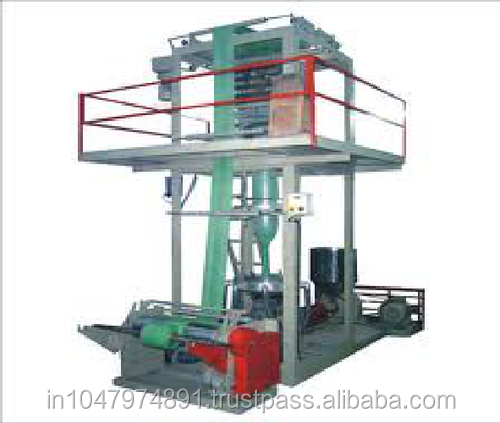Waste Plastic Recycling Bag Roll Blown Film Plant/Machine