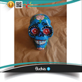Personalized Hand Painted Decorative Resin Skull Deads Low Price