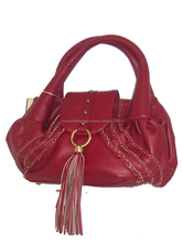 LEATHER GIRL'S HAND BAGS