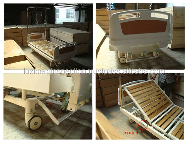 Hospital Trolley / Hospital Cabinet / Baby Cot & Hospital Beds Quality Control and Inspection / Ensure Product Quality & Safety