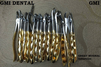 All DENTAL EXTRACTION FORCEPS English American Pattern