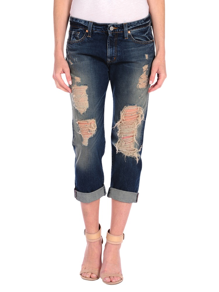 Hunter Boyfriend Jeans in Emerson Dark