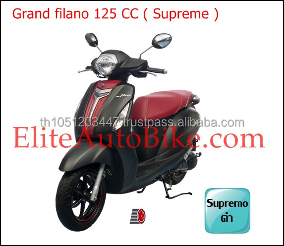 Yamahx Grand Filano Supreme 125 CC motorcycle scooter