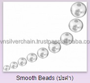 jewelry findings Wholesale 925 sterling silver smooth beads 2-12mm