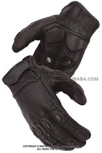 Men's/Women's Crossover Race Glove Featuring Padded Fingers and Palm, Double Ply Suede Grip Panels and Adjustable Wrist Strap