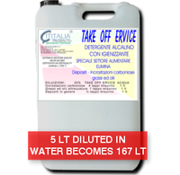 TAKE OFF 100 ERVICE - DETERGENT FOR OIL MILLS - concentrated at 3%