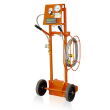 SF6 gas refilling device with electronic weighing scales 0 - 120 kg