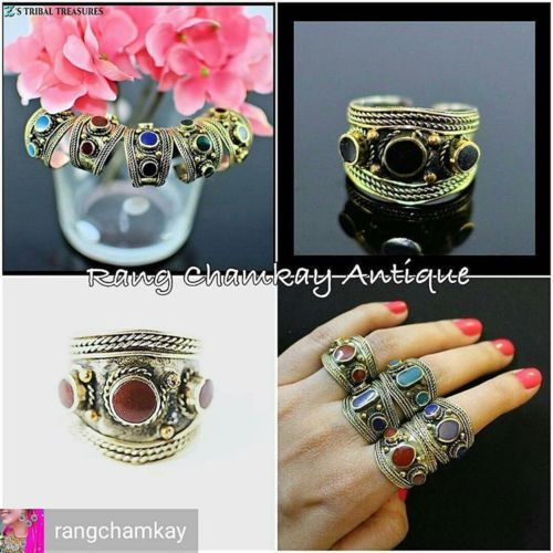 Afghan Turkmen Tribal Kuchi Ring free size