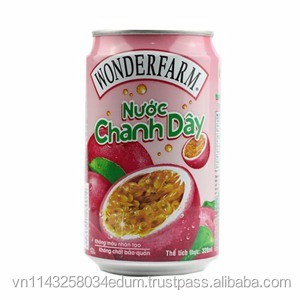 Wonderfarm Passion Fruit Juice 320ml x 24 cans
