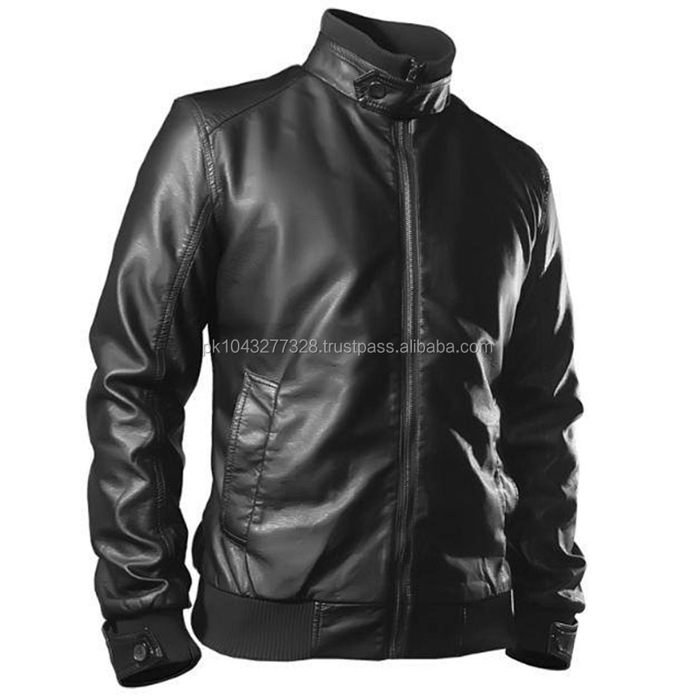 2017 model Sheep skin Leather Fashion Jacket