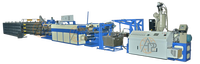PP/HDPE Plastic Flat Yarn Extrusion machine/ tape drawing machine/ For PP woven bag making mahcine