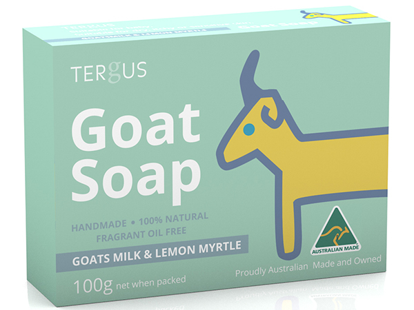 Goat Soap----Goats milk & Lemon Myrtle