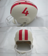 American Football Retro Helmet with Box