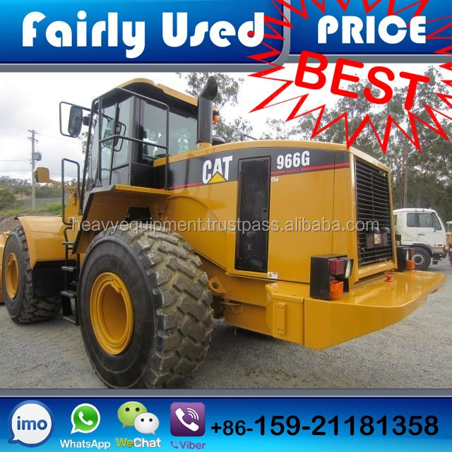 Cat 966G Used Wheel Loader of 966G Cat Wheel Loader Used