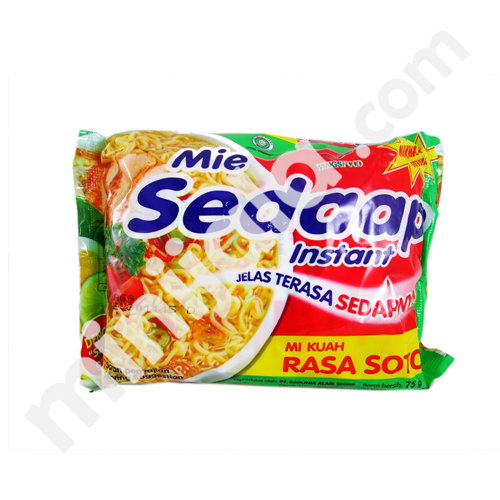 Mie Sedaap Instant Noodle with Indonesia Origin