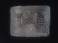 Scottish Highland Kilt Belt Buckle