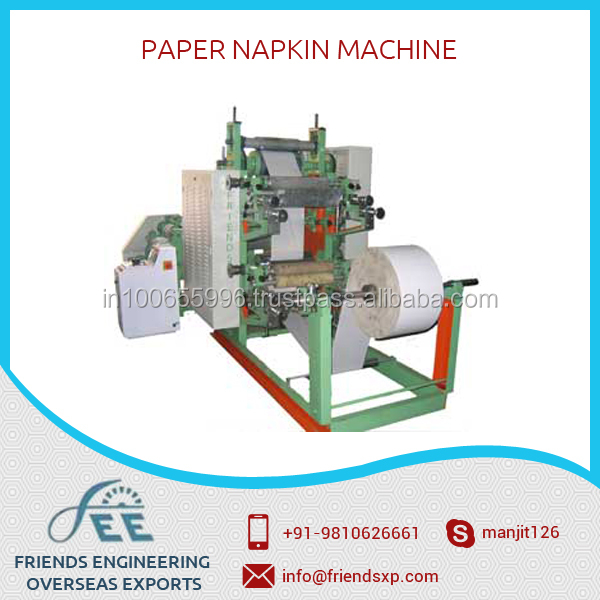 New Condition Tissue Paper Folding Machine with Digital Plate Available at Best Price