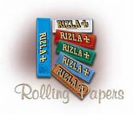 OCB Slim Rolling Paper, RAW Rolling Papers, Rizlas Rolling Papers (Red,Blue,Green,Silver)
