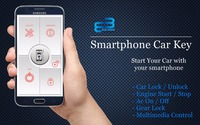Smart Phone Car Key with Smart Anti Theft Switch