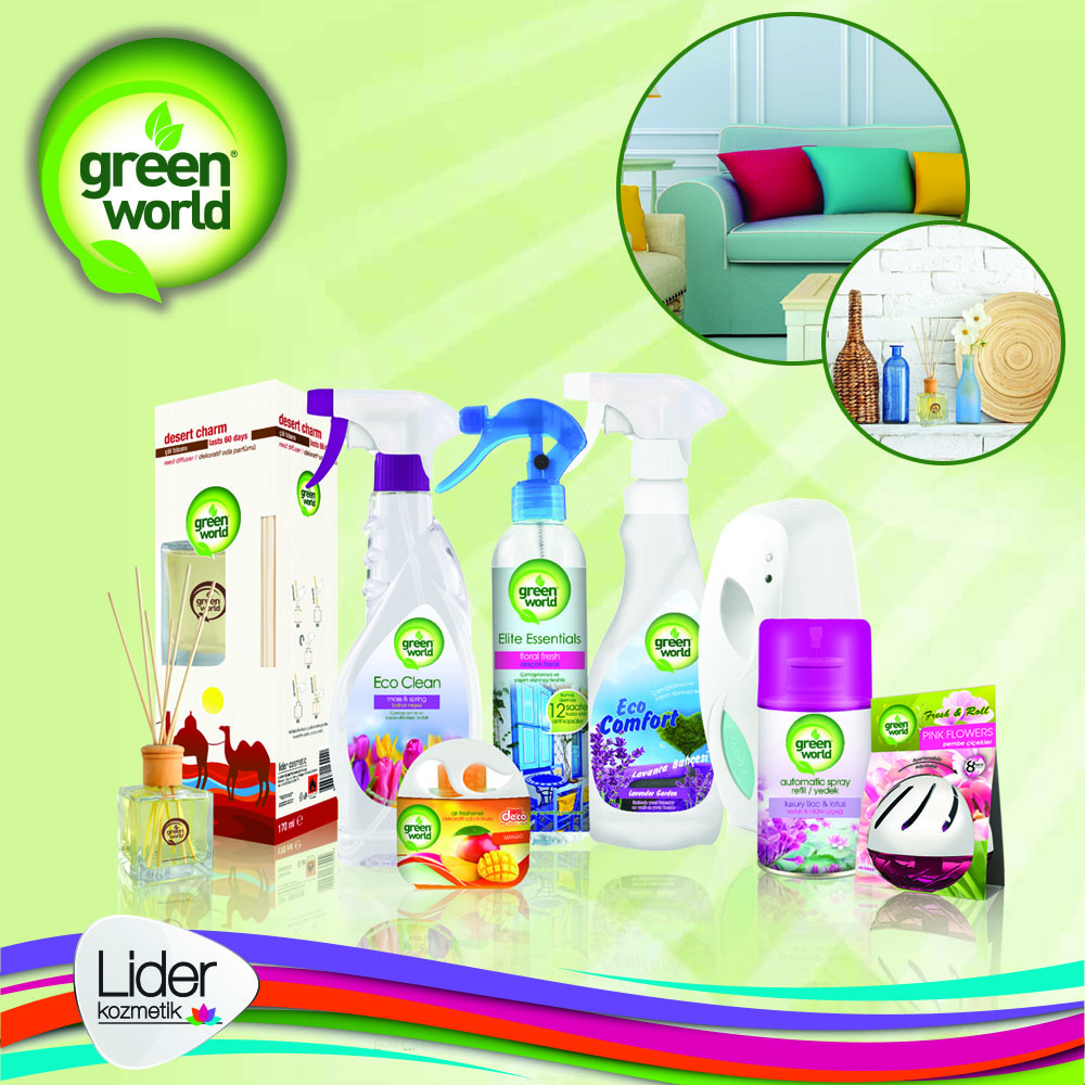 Green World Air Freshener