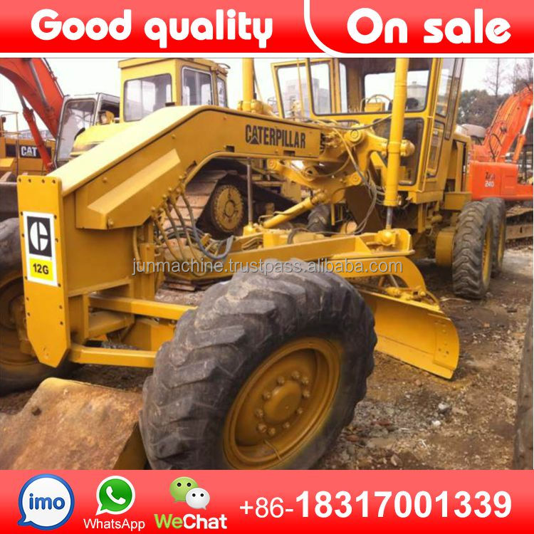Used CAT 12G Motor grader mini motor grader for sale