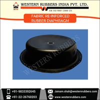 Laboratory Tested and Approved Fabric Reinforced Rubber Diaphragm for Chemical Industries