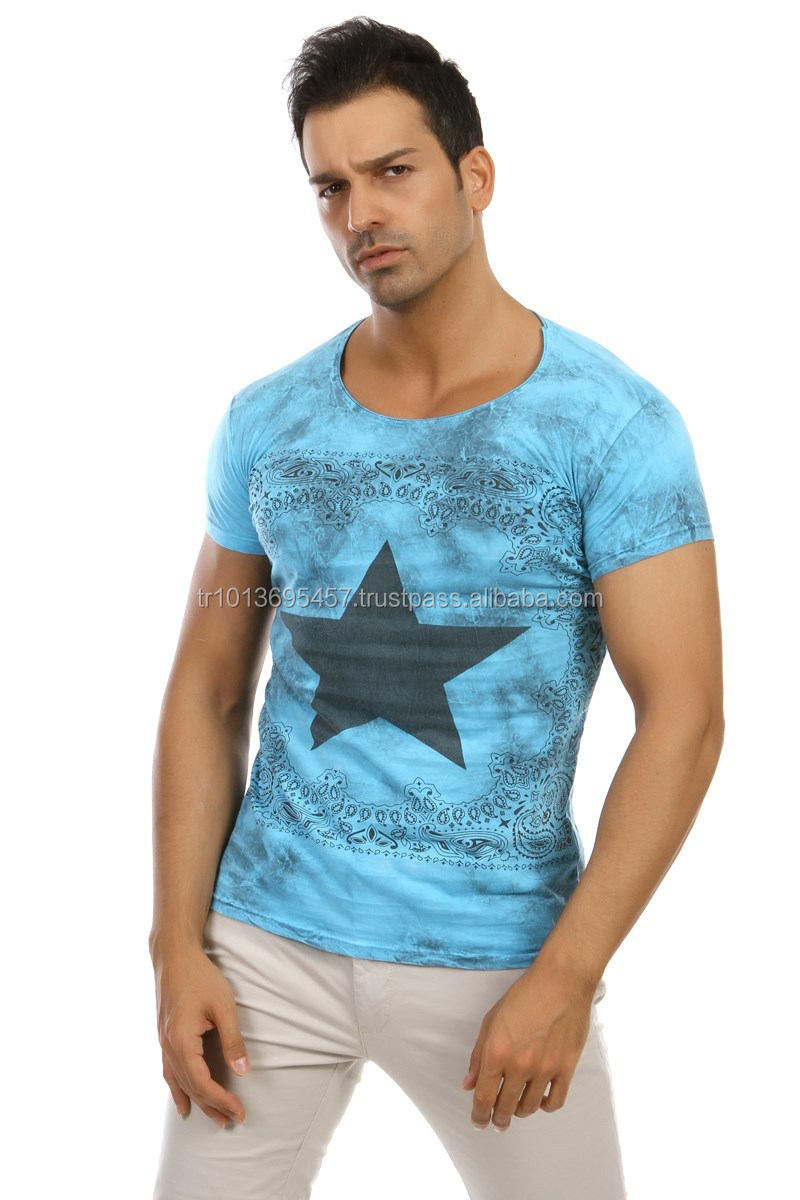 2015 new design fashion style mens v neck t shirt made in for Shirts made in turkey