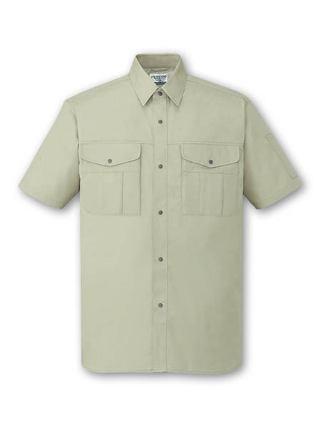 In stock apparel / Eco-friendly short sleeve shirts mens. Made by Japan