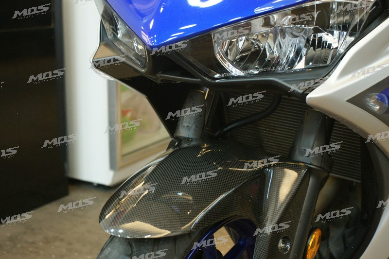 [MOS]OEM ODM 100% Made in Taiwan motorcycle part YZF-R3 Carbon Fiber Front Fender