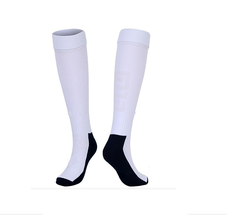 customized red soccer socks with oem service