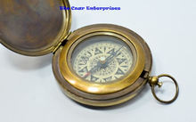 Vintage antique push button compass marine compass home decor item