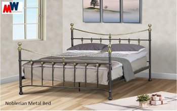2016 LATEST DESIGN - NOBLERIAN METAL BED